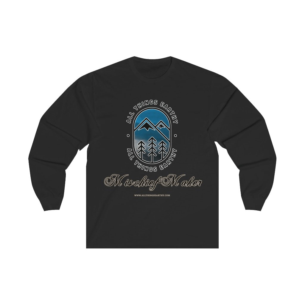 Mischief-Maker Long Sleeve Tee - All Things Earthy