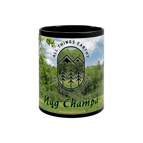 Nag Champa Black mug 11oz - All Things Earthy