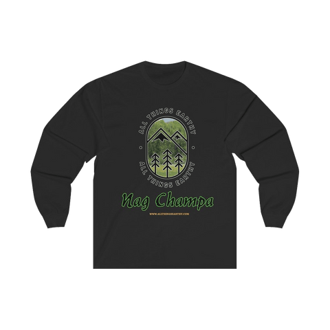 Nag Champa Long Sleeve Tee - All Things Earthy