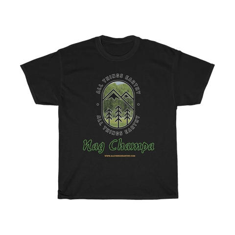 Nag Champa Heavy Cotton Tee - All Things Earthy