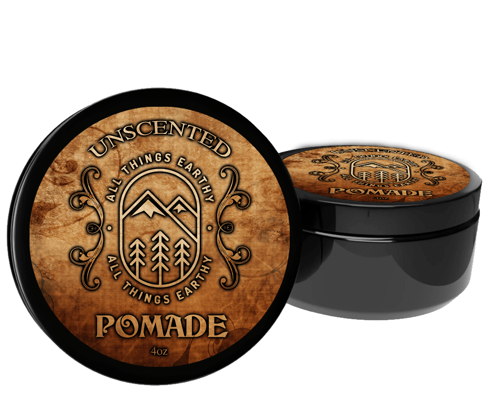 Unscented Pomade 4oz - All Things Earthy