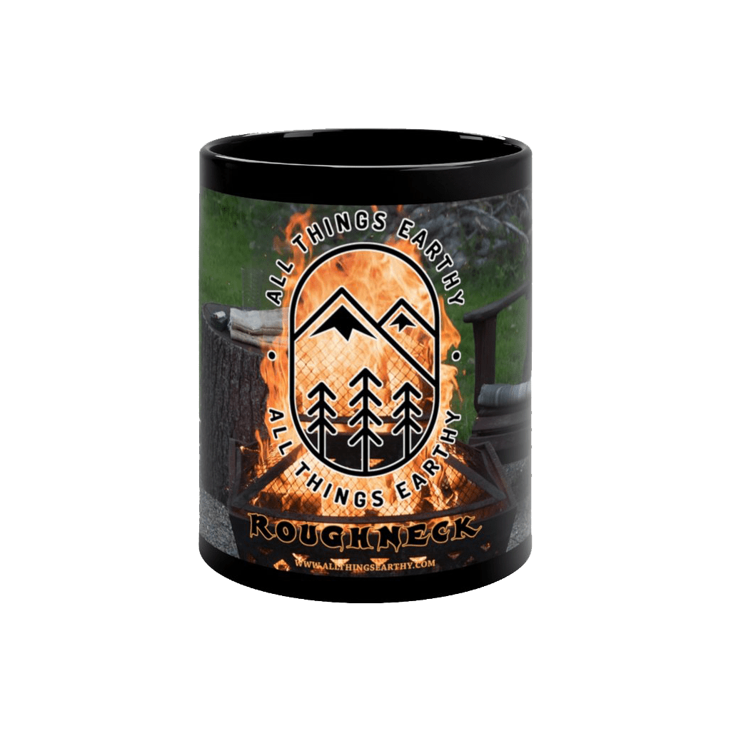 Roughneck Black Mug 11oz - All Things Earthy