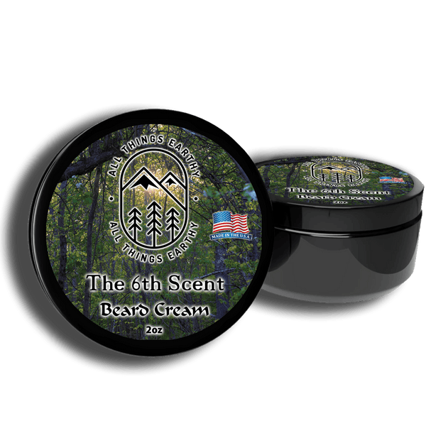 The 6th Scent Beard Cream 2oz - All Things Earthy