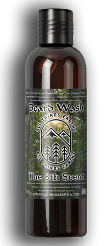 The 6th Scent Beard Wash 8oz - All Things Earthy