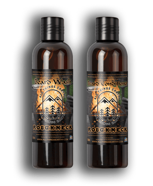 Roughneck Beard Conditioner 8oz - All Things Earthy