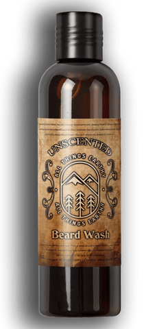 Unscented Beard Wash 8oz - All Things Earthy