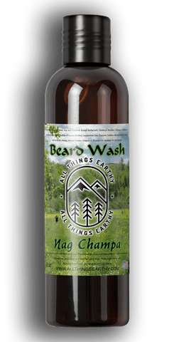 Nag Champa Beard Wash 8oz - All Things Earthy