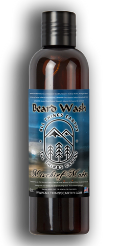Mischief-Maker Beard Wash 8oz - All Things Earthy