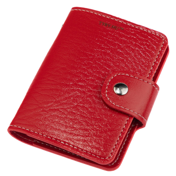 TYRY.HU Small Wallet PU Women's Purse Red