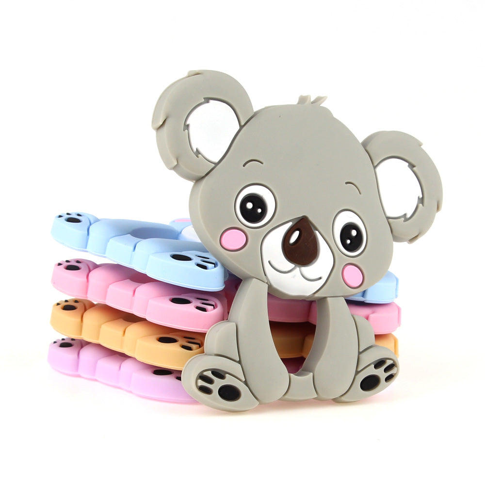 Silicone Smile Koala Teether Toy - TYRY.HU