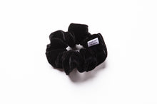 Load image into Gallery viewer, Velvet Scrunchie (Black)
