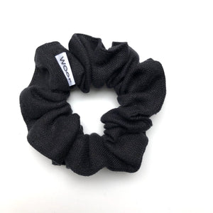 Linen Scrunchie (Black)