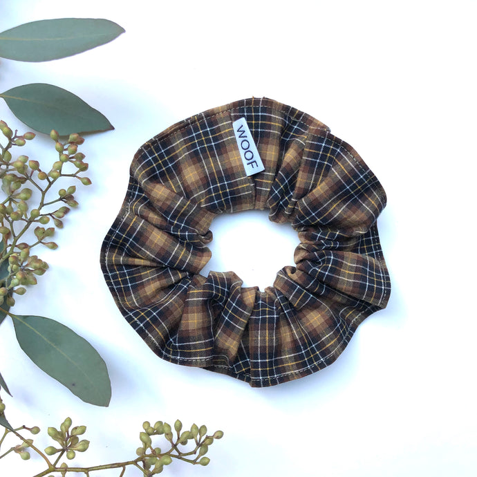 Cotton Scrunchie (Oxford)