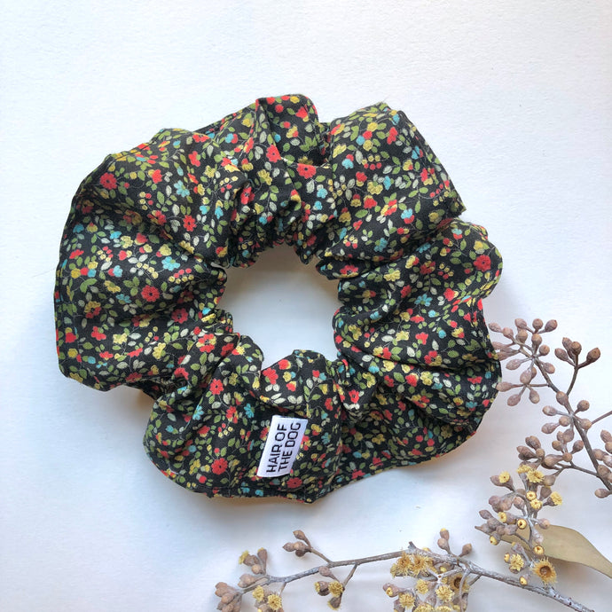 Cotton Scrunchie (Floral)