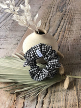 Load image into Gallery viewer, Gingham Scrunchie