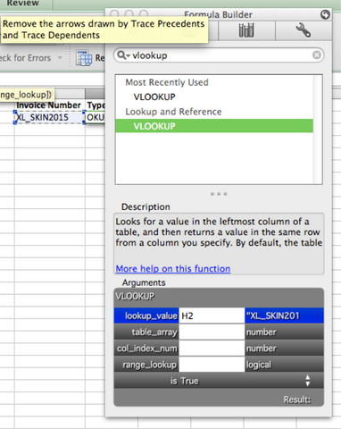 Using the VLOOKUP function on a Mac - Excel Skin™