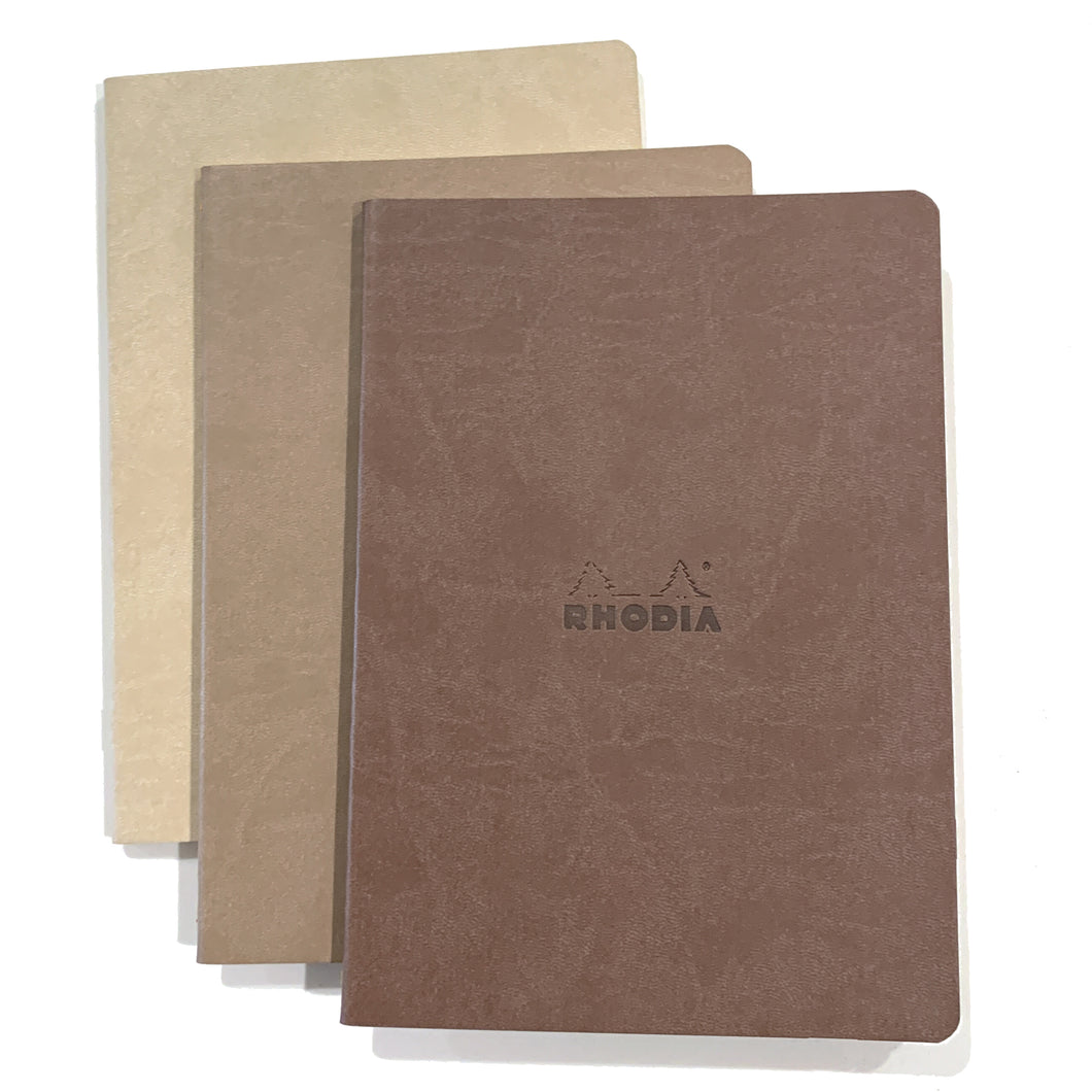 rhodia notebooks - cafe collection