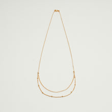"Load image into Gallery viewer, ""double-layer"" chain necklace"