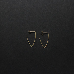 """violo"" - artisanal hammered hoops"