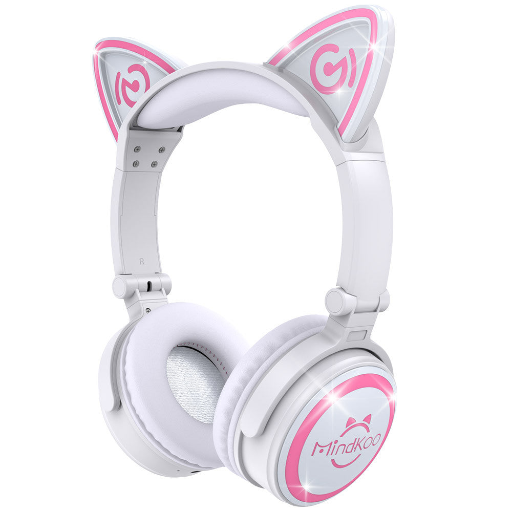 Cat Ear Headphones Mindkoo Unicat Wireless LED light Earphone