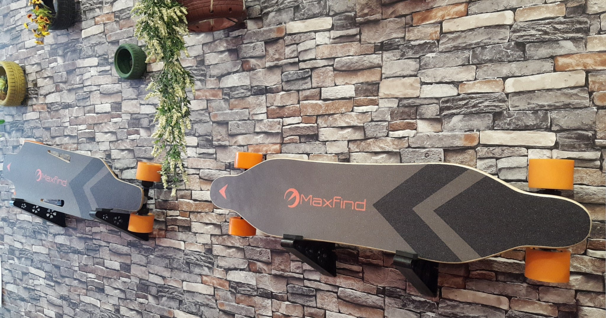 Max A - Electric Skateboard with Single 600W Motor,World's Most Portable Electric Longboard