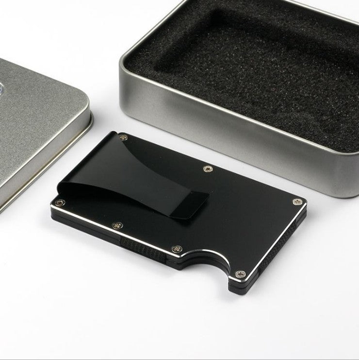 Aluminum Wallet Credit Card Holder