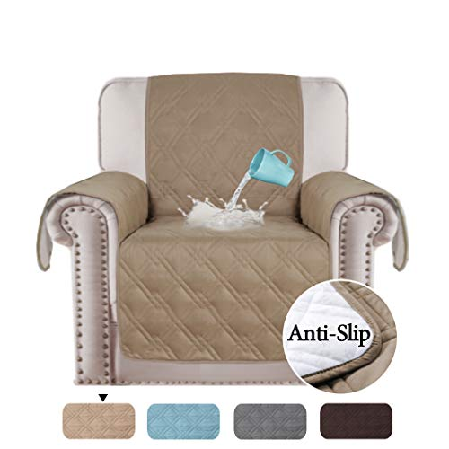 Fine H Versailtex 100 Waterproof Recliner Protector Non Slip Furniture Cover For Recliner Chair Sofa Protector Stay In Place Protect From Pets Spills Pabps2019 Chair Design Images Pabps2019Com