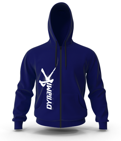 NEW Dynamik Zip Up Hoodie (MIDNIGHT BLUE)