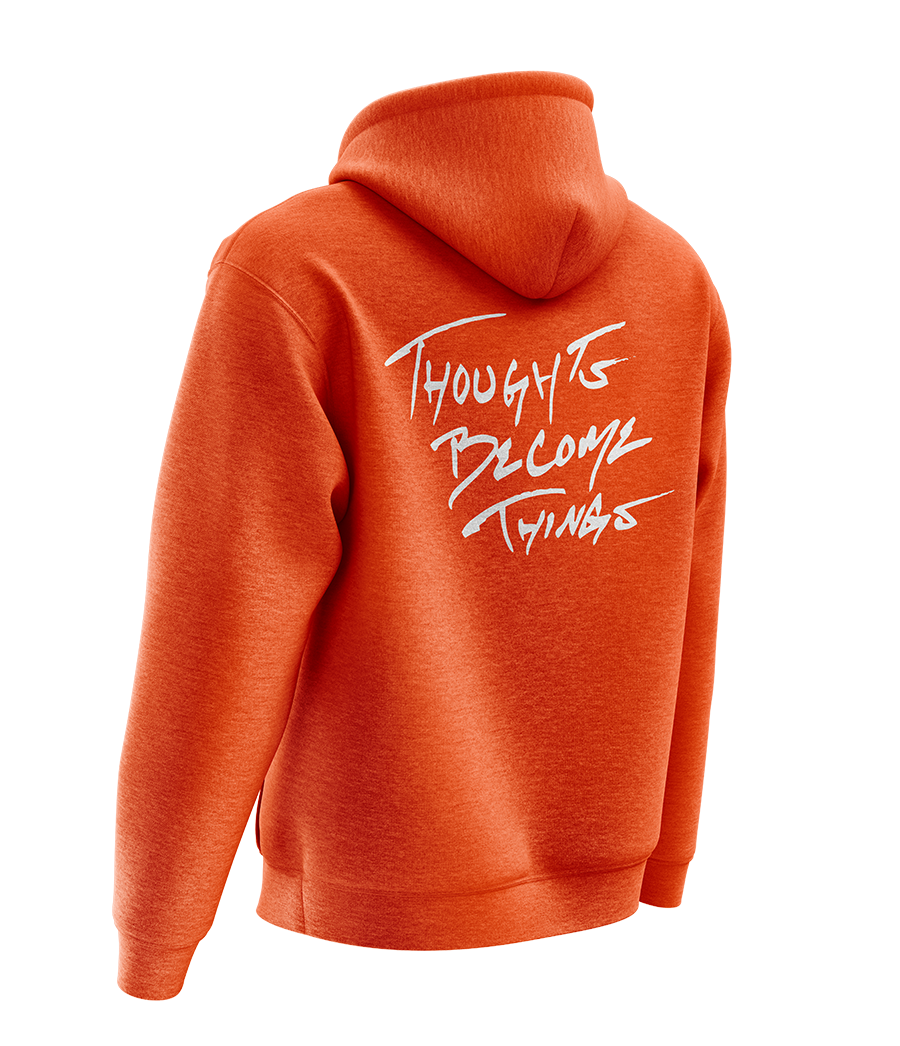 NEW Dynamik Orange Hoodie