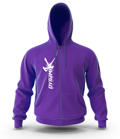 NEW Dynamik Zip Up Hoodie (Purple)