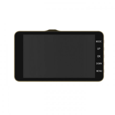 "1080P 4"" HD WDR Dash Cam Night Vision Car Video Recorder With Rear Camera"
