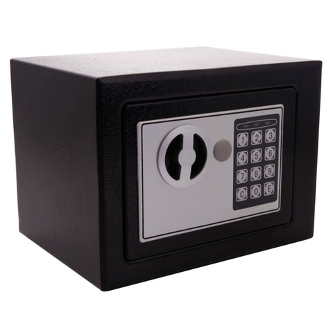 Digital Electronic Safe Box Keypad Lock Home Office Hotel Black