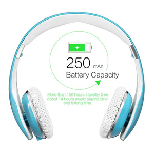 Bluetooth Wireless Stereo Headphones Headset
