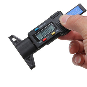 Car Tire Tread Depth Tester LED