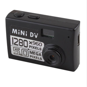 MD80 5MP HD Micro FPV Camera Mini DV Digital Camera Video Recorder Black
