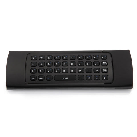 MX3 2.4GHz 6-Axis 81 Keys Wireless Mouse Remote Control Black