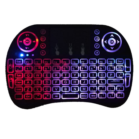 Image of Mini i8 2.4G Air Mouse Wireless Keyboard with Touchpad Black