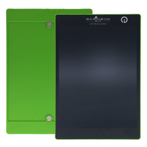 SCRIMEMO 9.7 Inch Digital LCD Writing Drawing Tablet Pad Board Green