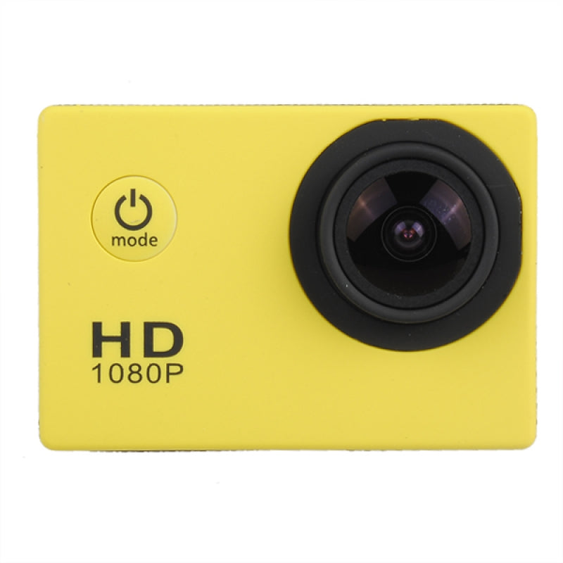 SJ4000 720P HD DVR Video Waterproof Sport Camera-US Plug, Yellow