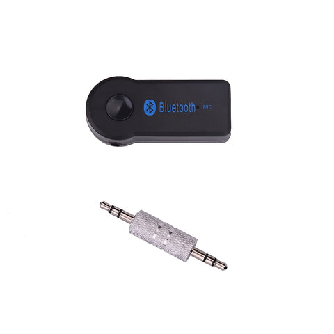 TS-BT35A08 HiFi Car Wireless Bluetooth 3.0 Audio Music Converter Receiver with Hands-free Calls for iPad iPhone Desktop Laptop Black