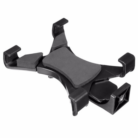 Tripod Mount Holder Bracket 1/4 Inch Thread Adapter for 7-10.1 Inch Tablet PC Black