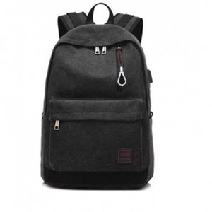 Backpack charger for notebook and laptop.