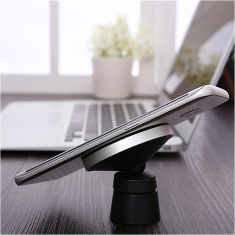 W5 Magnetic Wireless Car Charger Mount Qi Standard Air Vent and Dashboard Mount Holder Cradle for iPhone Samsung