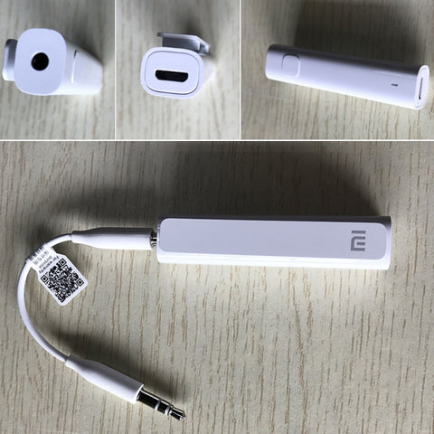 Image of Xiaomi Bluetooth V4.2 Music Receiver 3.5mm AUX Audio Adapter White