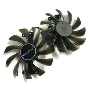 GPU fan For zotac GeForce GTX 1080 AMP Graphics Card GPU cooling