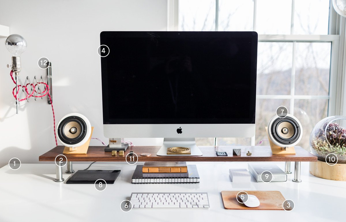 How I Designed A Super Productive Desk Setup Ugmonk