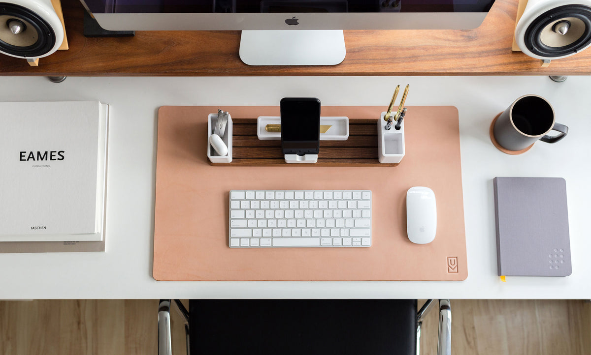 New Leather Desk Pads Ugmonk