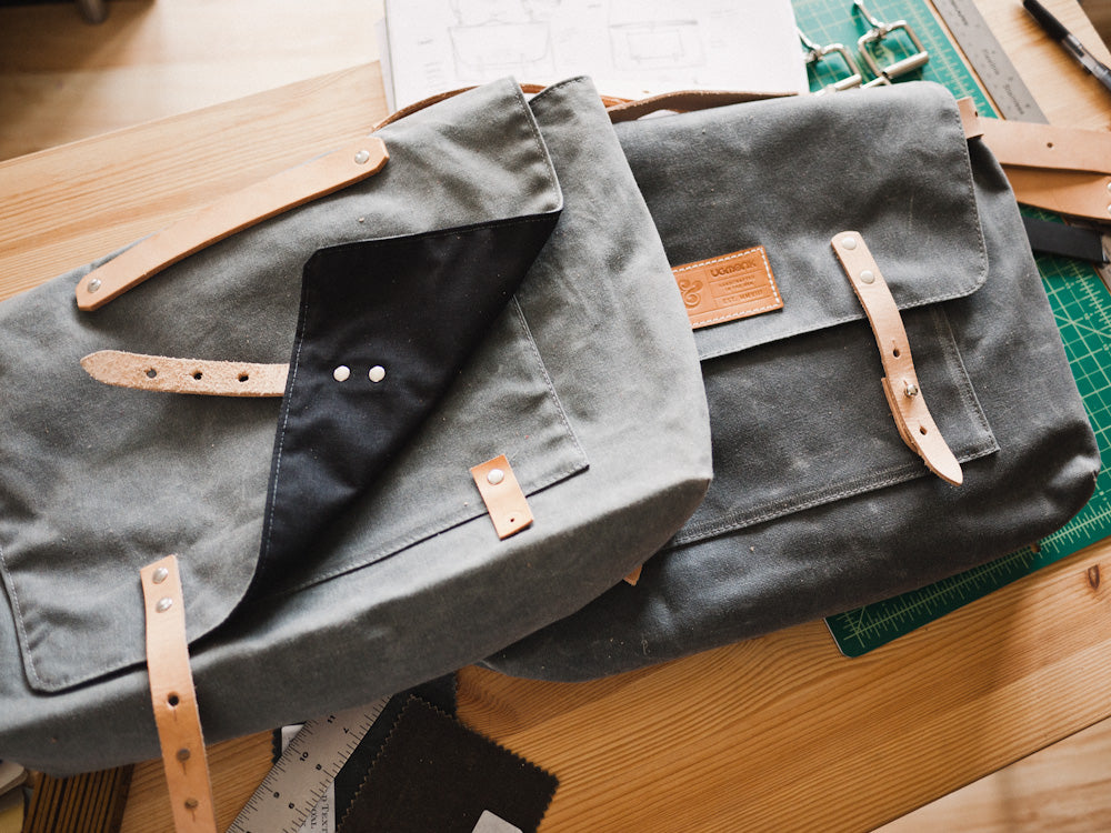 Messenger Bag Process: From Sketch to Finished Product – Ugmonk