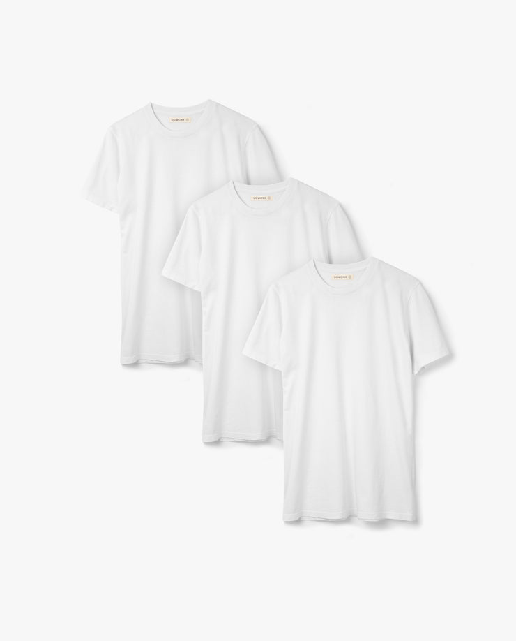 Men's Essential Tee (White 3-Pack)