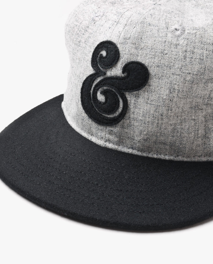 Ampersand Baseball Cap (Black)
